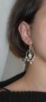 Perle, fire de sama argintata