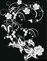 black-white-flower-decoration1
