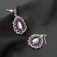 Violet lace drop