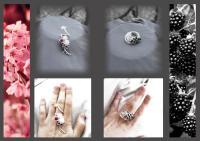 inel colier bijuterii argintate bijuterii handmade materiale pietre semipretioase sarma argintata sarma de argint pietre semipretioase bijuterii contemporane  verde