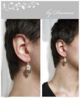 bijuterii handmade jewelry cercei perle perl earrings vintage pietre semipreioase argint 925 marchasite