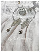 cercei argintati bijuterii argintate cristale boemia bijuterii handamde 5
