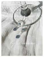 cercei argintati bijuterii argintate cristale boemia bijuterii handamde 9