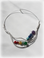 Colier Colectia Losing my marbles autor bijuterie contemporana sarma argintata pietre semipretioase bijuterii handmade