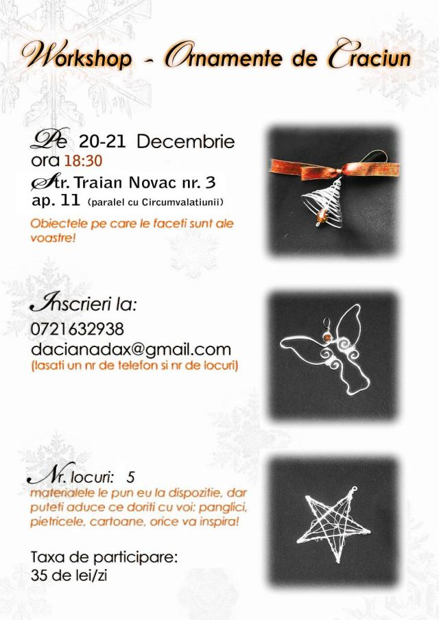 workshop ornamente de Craciun copy