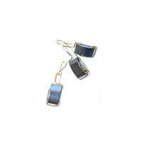 bijuterii handmade jewelry cercei pandantiv earring pendant sarma alama aurita hematit modern