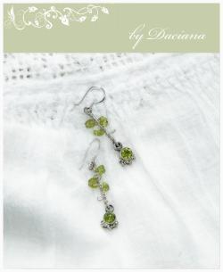 verde bijuterii argint bijuterii handmade peridot pietre semipretioase sarma argint 925 cercei argint vintage