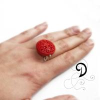 bijuterii-inel-handmade-ring-jewelry-cinambru-coral-rasina-sarma-argintata-silver-plated-wire