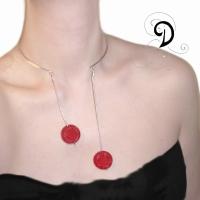 bijuterii-necklace-handmade-colier-jewelry-cinambru-coral-rasina-sarma-argintata-silver-plated-wire-tibet