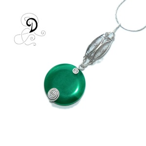 verde pandantiv vintage handmade pendant agata verde bijuterii handmade argint 925 sarma argint