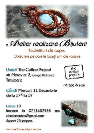 Workshop Atelier Bijuterii handamde impletituri TM11